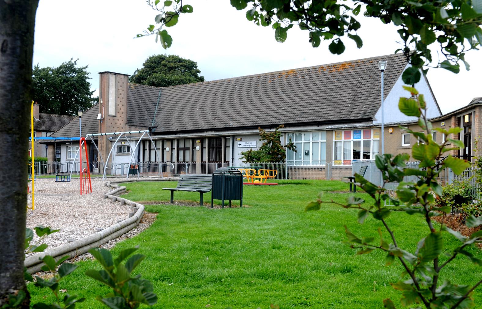Mastrick Community Centre on Greenfern Road.