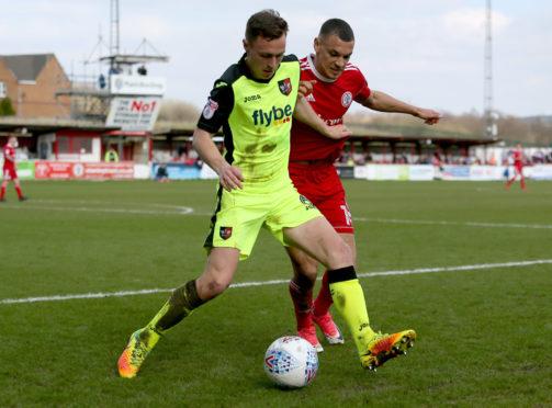 Jordan Tillson in action.