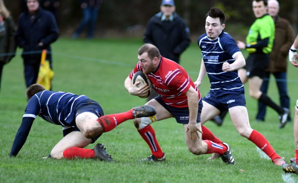 Aberdeen Grammar have three regular season games left. Picture by Chris Sumner