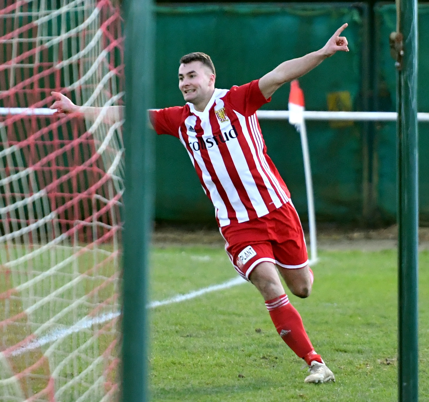 Scott Lisle in action for Formartine United.  Picture by Chris Sumner