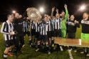 Fraserburgh lift the Aberdeenshire Shield.  Pictures by Kath Flannery