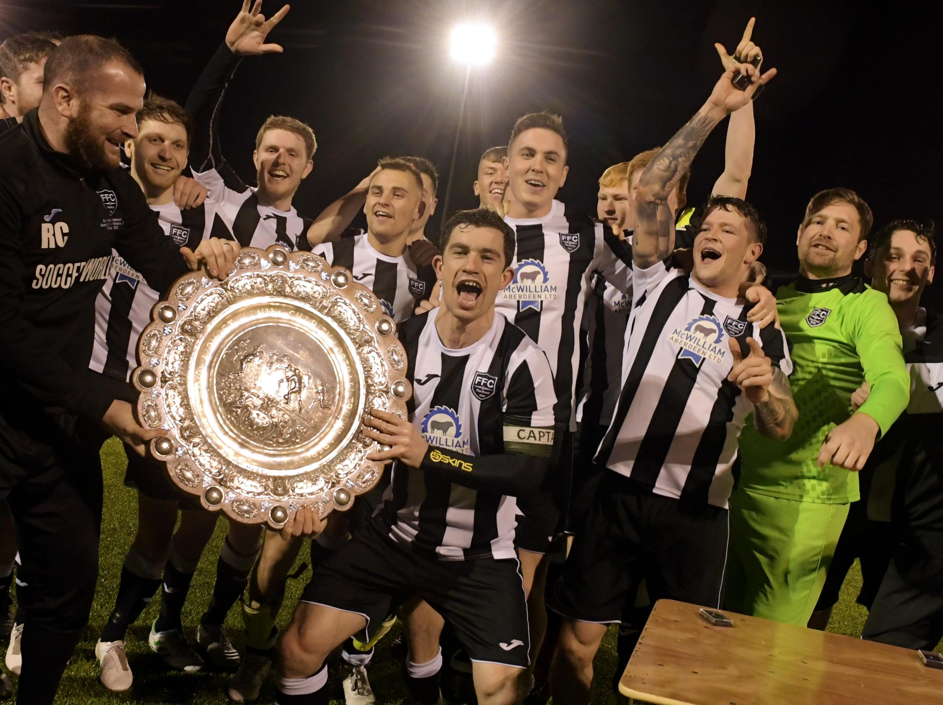 Fraserburgh won the Aberdeenshire Shield in 2020
