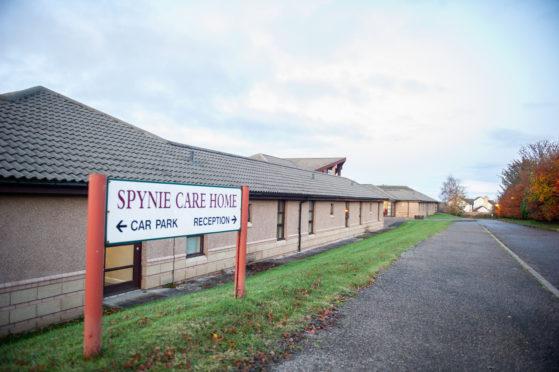 Spynie Care Home.