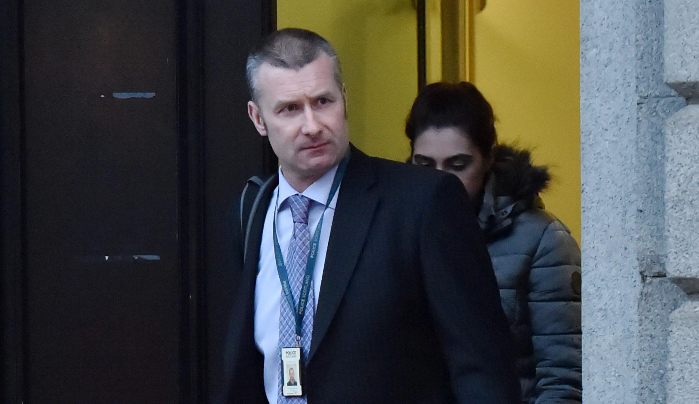 Collision investigator PC Andrew Ramsey.