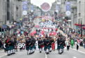 Celebrate Aberdeen parade. Picture by Scott Baxter