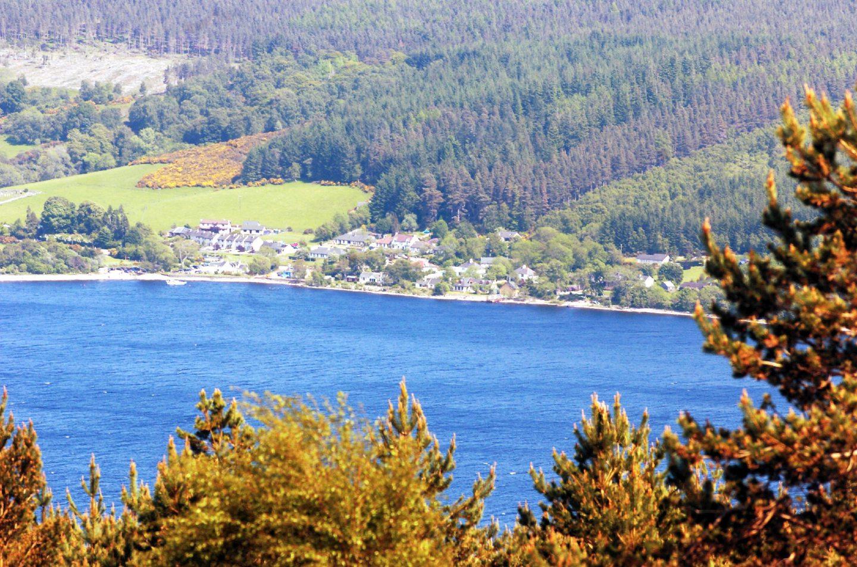 Shores of Loch Ness near Drumnadrochit
