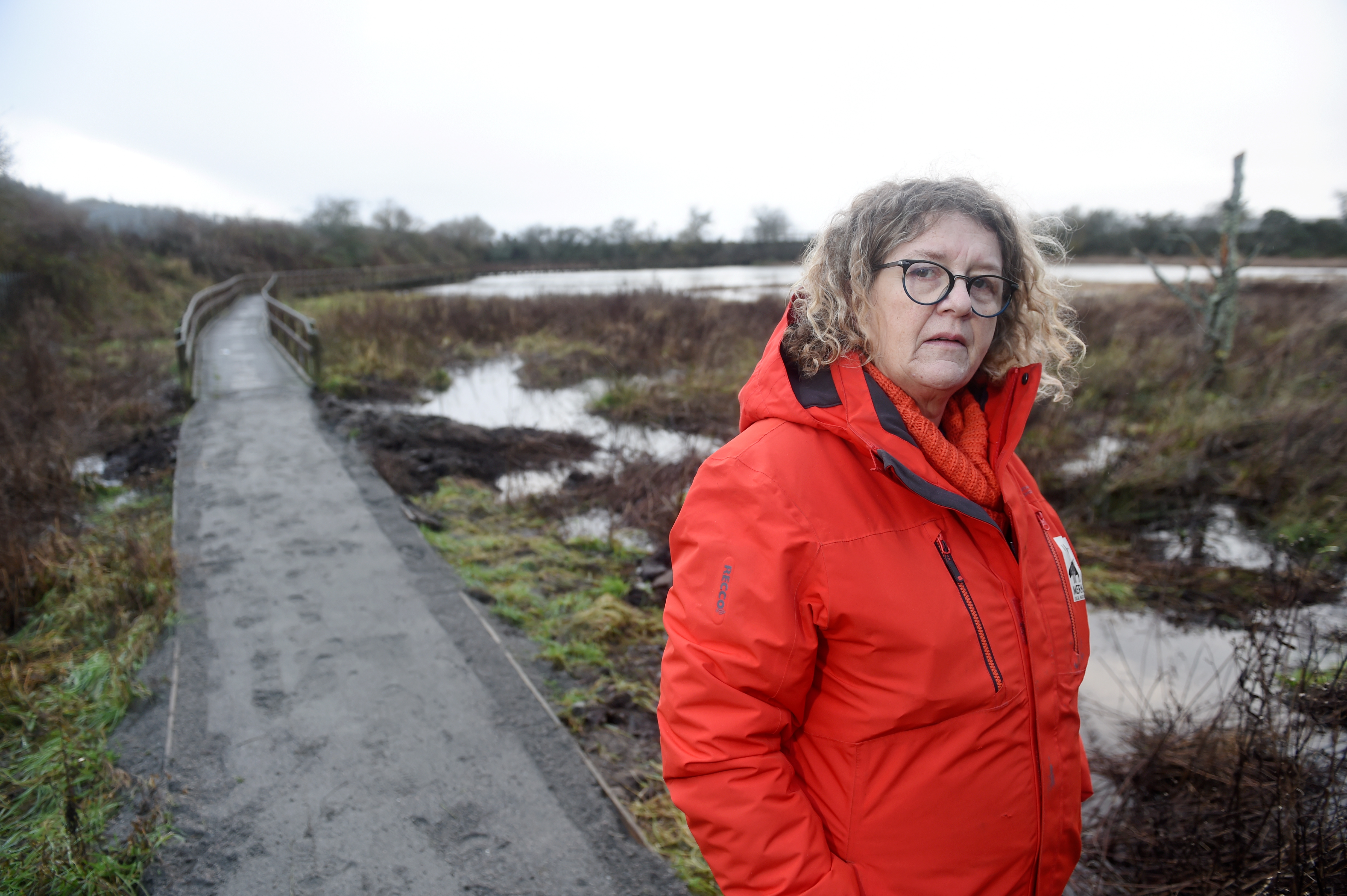 Caroline Snow, project manager of Merkinch Local Nature Reserve. Picture by Sandy McCook