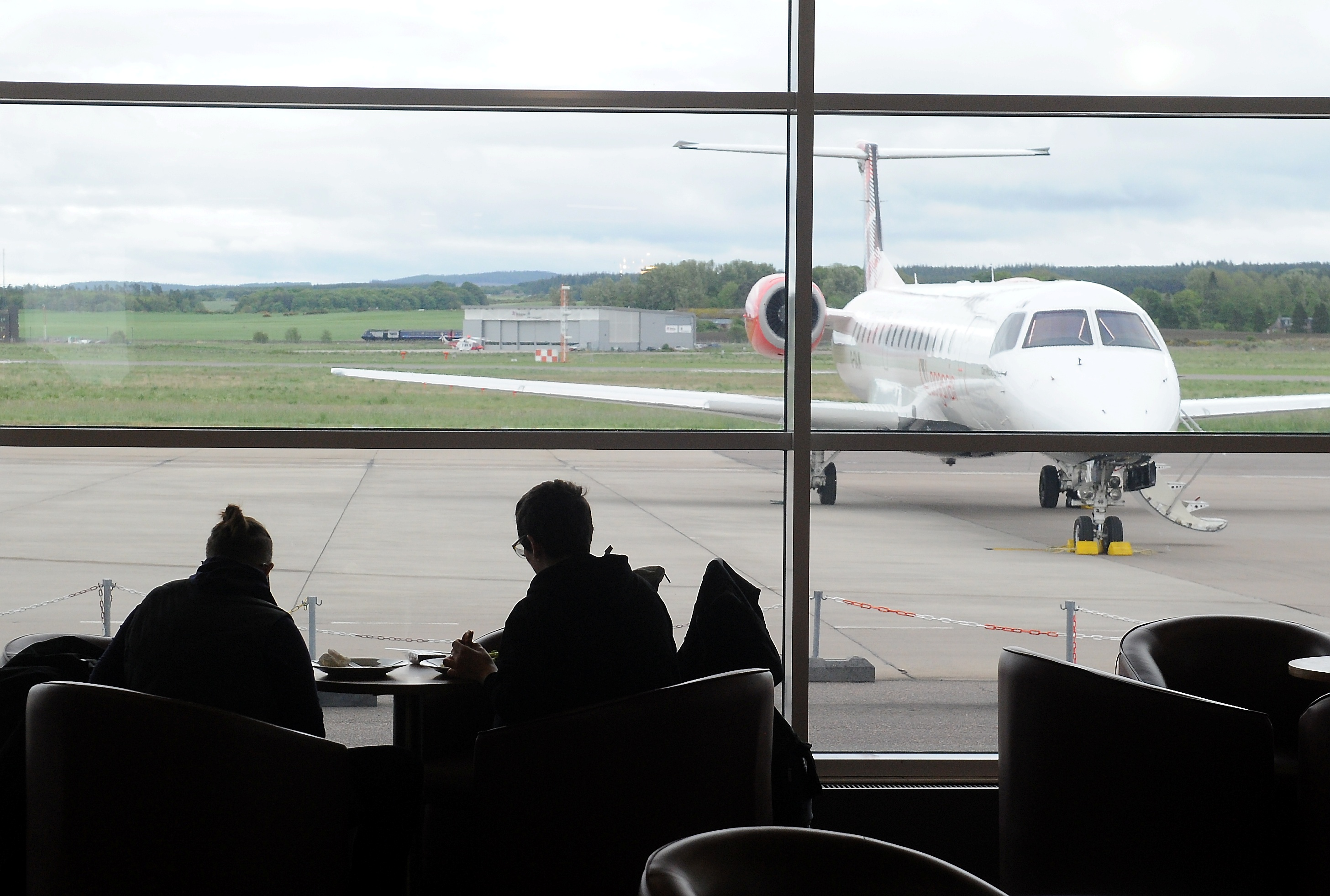 Inverness airport. Picture by Sandy McCook