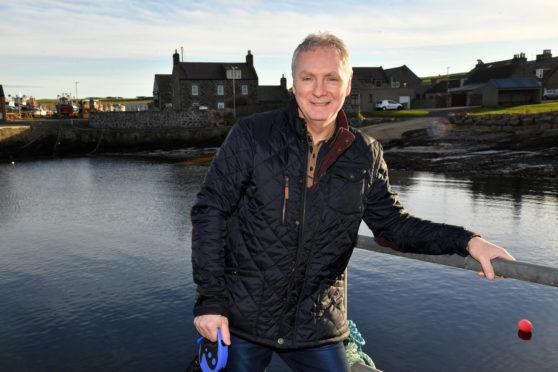 Rosehearty Inshore Fishermens Association chairman David Whyte