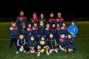 THE TURRIFF UNITED JUNIOR FOOTBALLERS