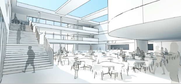 Artists impression of the new Peterhead Academy