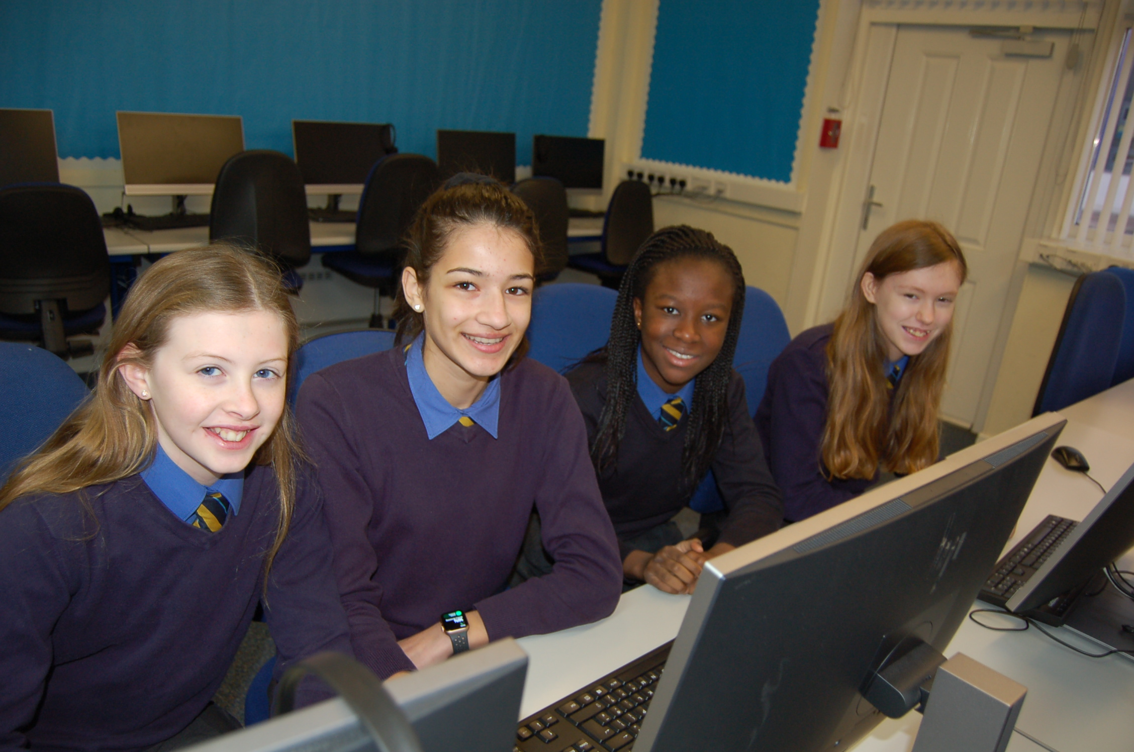 Team Minerva from St Margaret's School for Girls will compete in the competition.