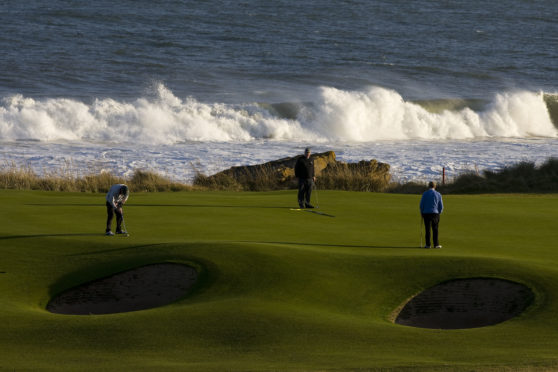 Golf in Scotland will be looking to bounce back.