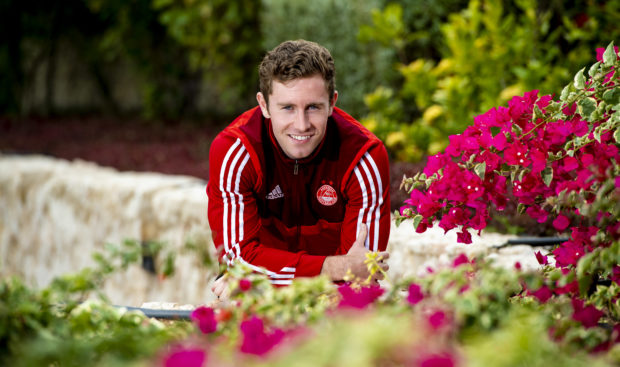 Jon Gallagher was on loan at Aberdeen from Atlanta United last season