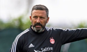 Derek McInnes not looking for transfer targets to cover for Aberdeen's eight self-isolating players