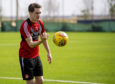 Scott Wright joined Aberdeen on their winter training camp in Dubai.