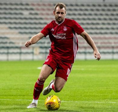 Aberdeen winger Niall McGinn.