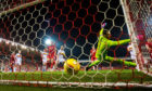 Motherwell's goal.