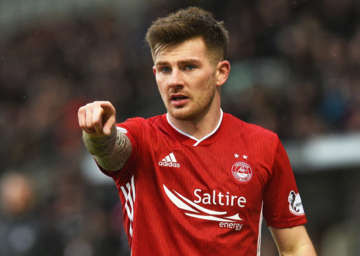 Matty Kennedy was handed his Aberdeen debut.