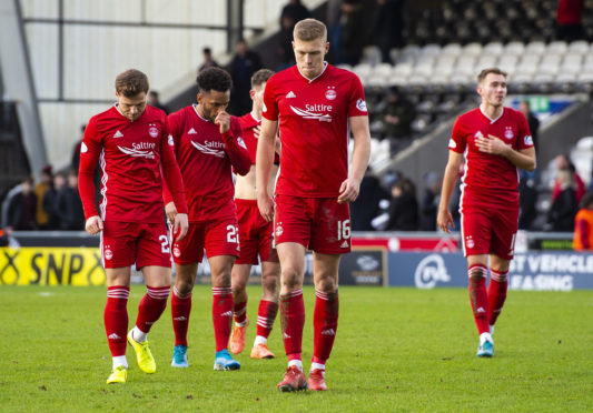 A dejected Aberdeen.