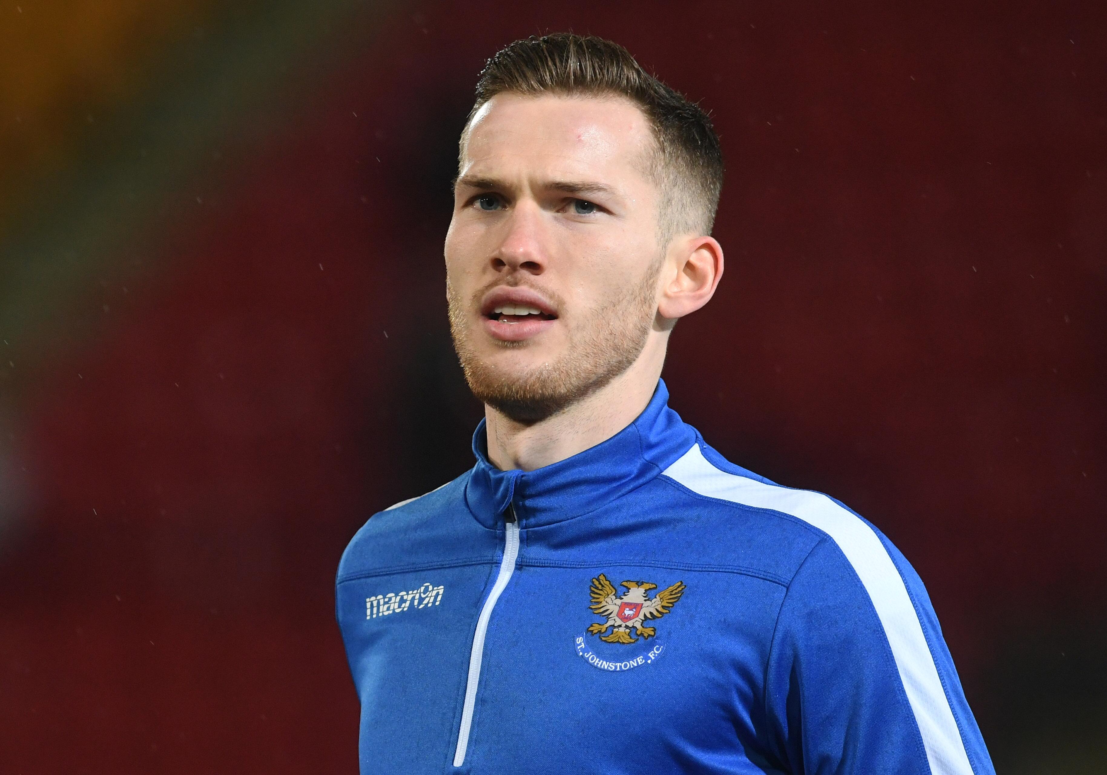 New St Johnstone defender Jamie McCart.