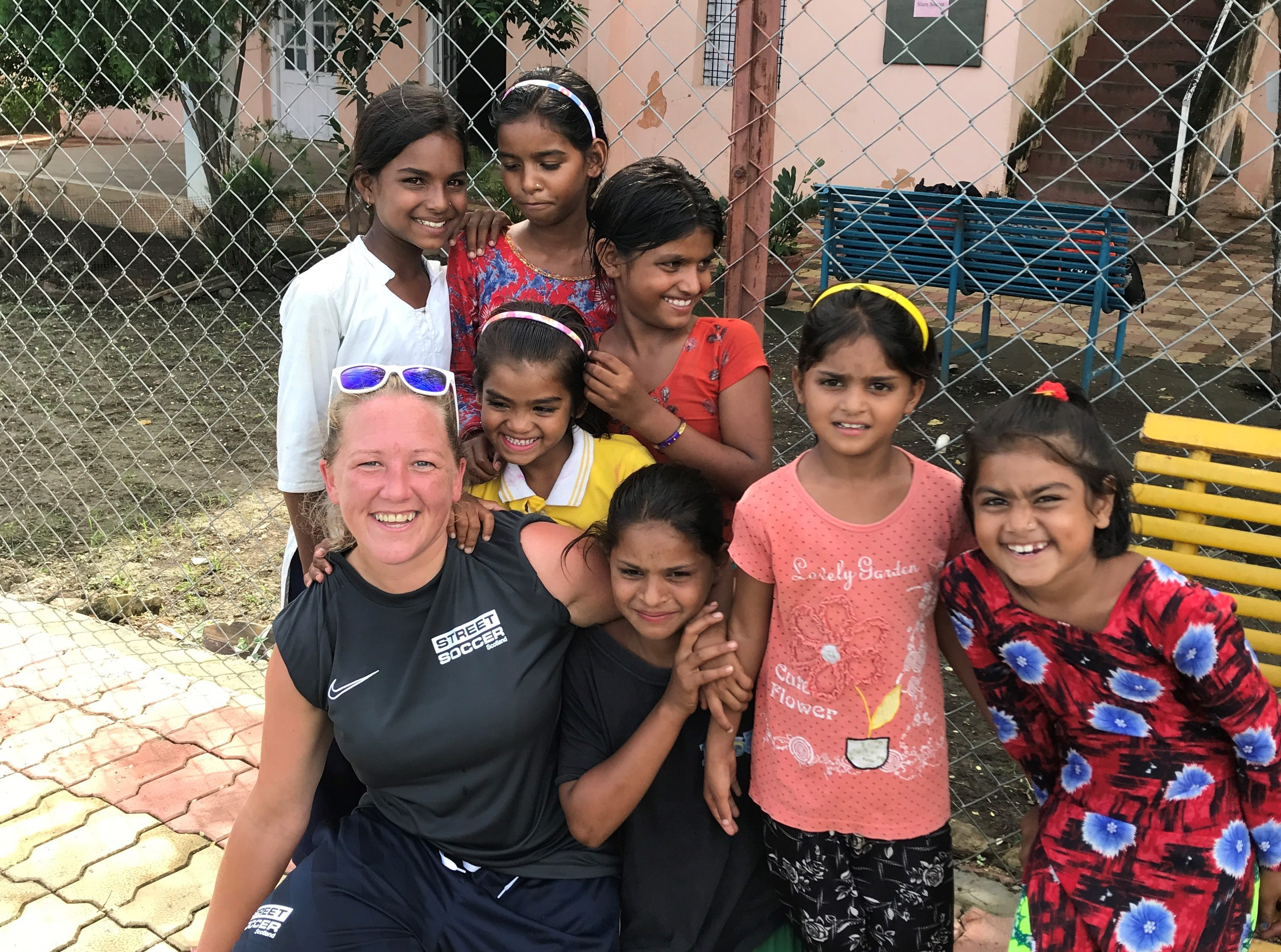 Sarah Rhind on a cultural exchange trip to India