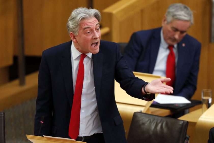 Scottish Labour leader Richard Leonard.