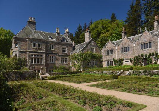 Tillypronie House in Aboyne.