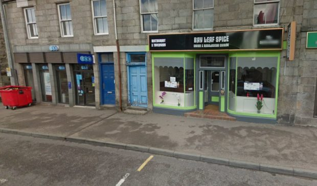 The Bay Leaf Spice restaurant in Grantown. Picture from Google
