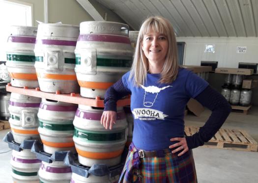 Heather McDonald of WooHa Brewery