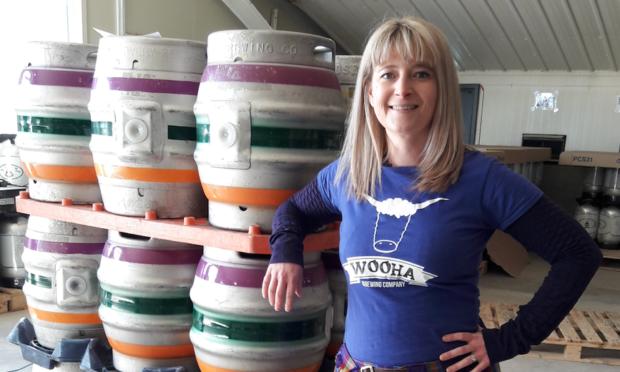 Brewery Founder Heather McDonald.