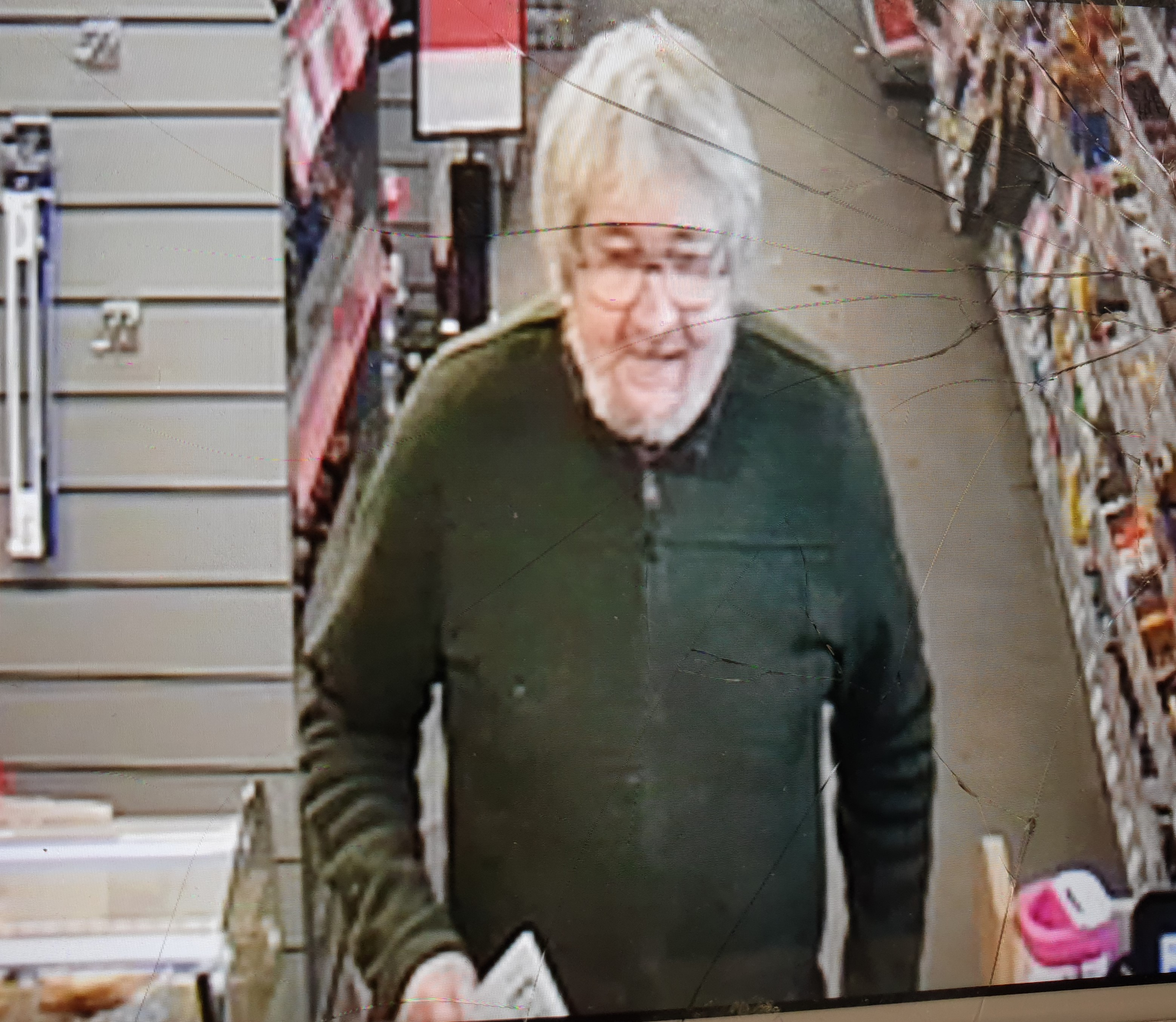 Police have released this CCTV image of James Paton captured shortly before he went missing.