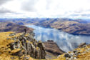 Loch Hourn and the mountains of Knoydart from Beinn Sgritheall. Picture by Bill Cameron