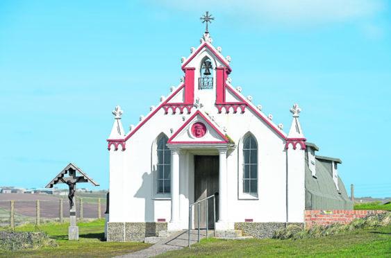 Italian Chapel, Lamb Holm, Orkney.