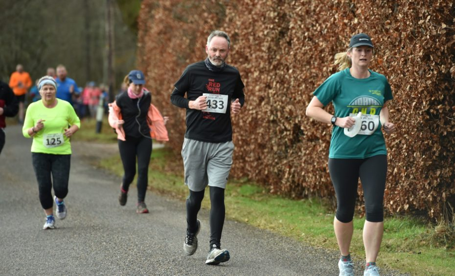 Lumphanan Detox 10k. Picture by COLIN RENNIE