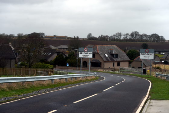 Entrance into Bridgend