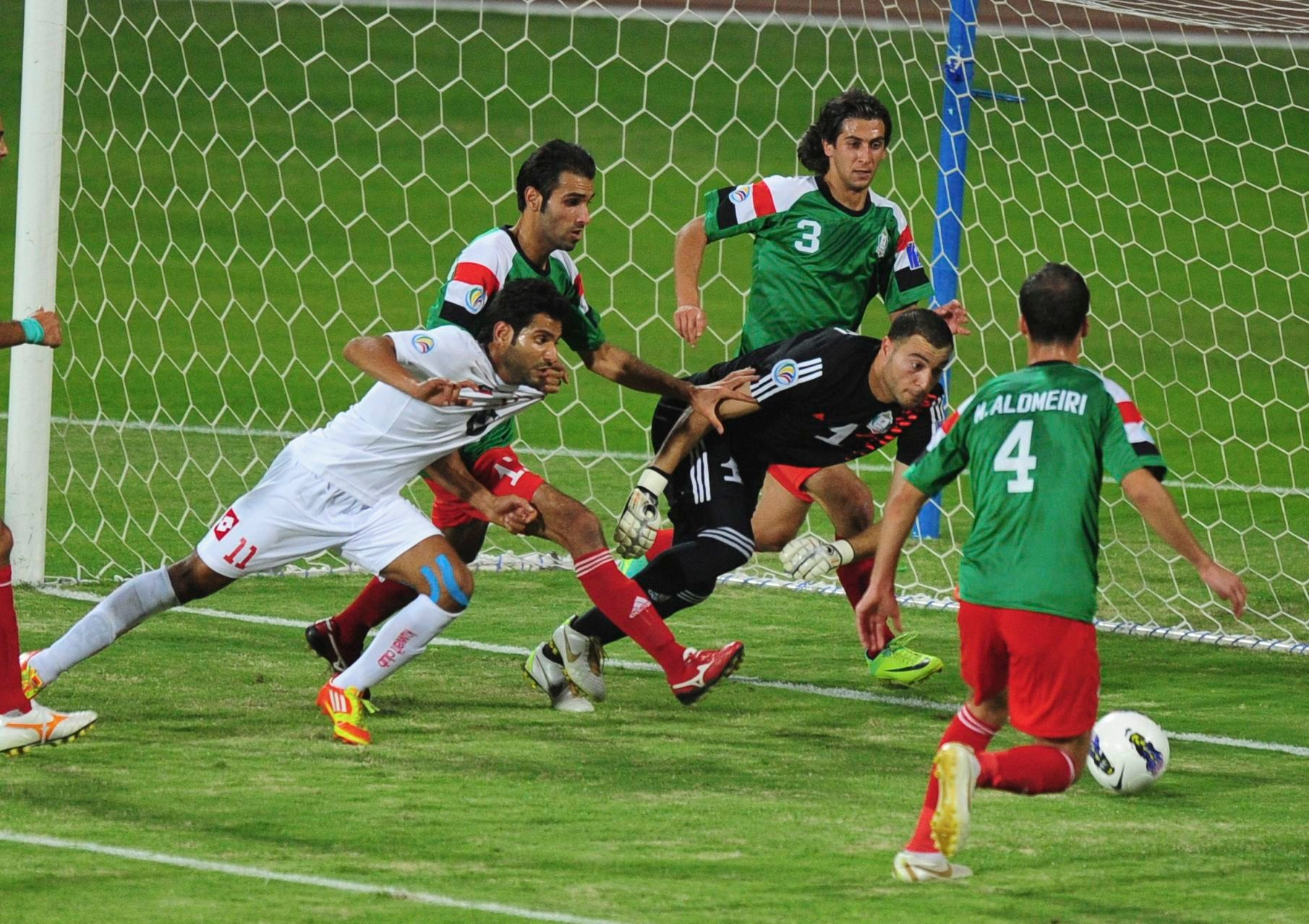 Al Wehdat in action.