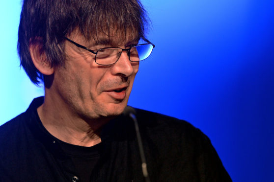 Ian Rankin was a guest at this year's Granite Noir festival in Aberdeen.