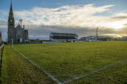 Fraserburgh FC's Bellslea Park.