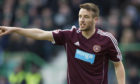 Brad Mckay makes his debut for Hearts at Easter Road.
