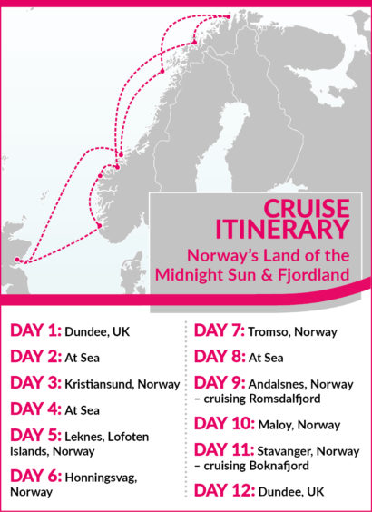 Itinerary block