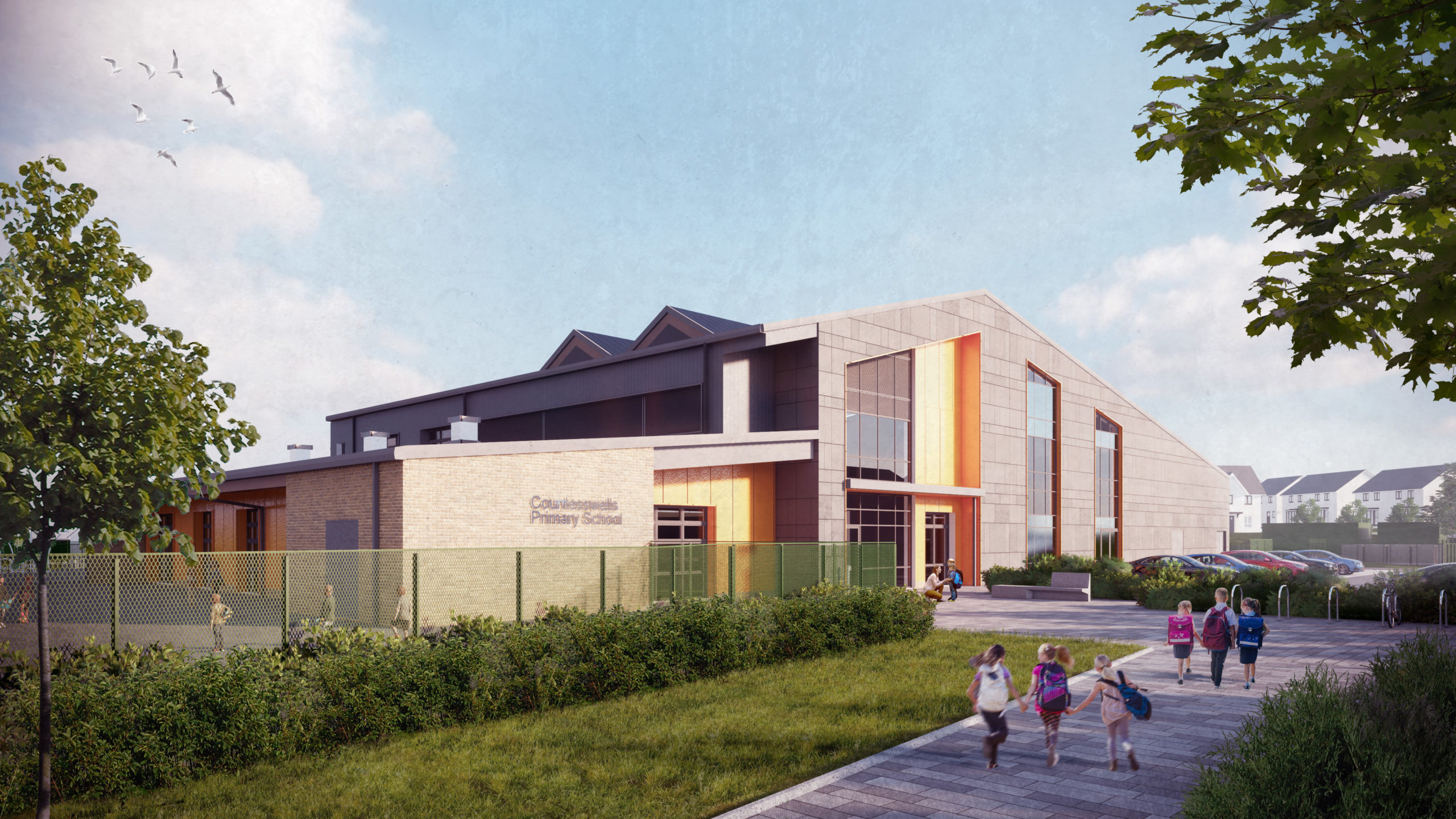 New images of the primary school at Countesswells