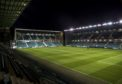 A general view of Easter Road.
