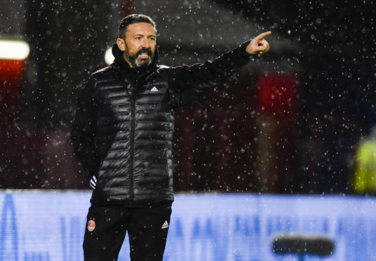 Derek McInnes at Hamilton.