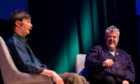 Ian Rankin and Phill Jupitus talk. at Aberdeen Music Hall.