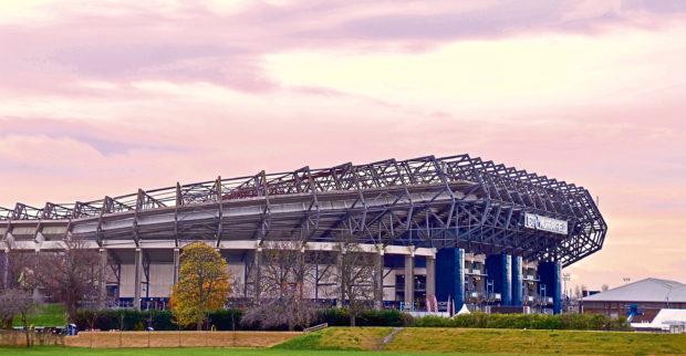 BT Murrayfield Rugby Stadium. in Edinburgh. Scotland UK. November 2017; Shutterstock ID 765109180; Purchase Order: -