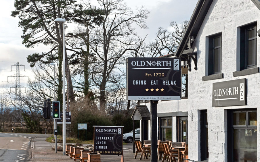 Old North Inn, Inchmore, Inverness. Picture by Jason Hedges.