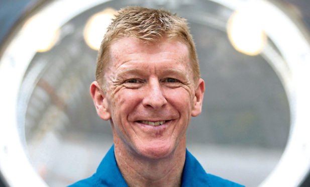 Astronaut Tim Peake will speak to more than 2,000 school pupils from across Scotland.