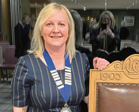 Elaine Farquharson-Black has become the first female to be elected Club Captain in the 117-year history of the prestigious Deeside Golf Club - an appointment traditionally held by a male member.