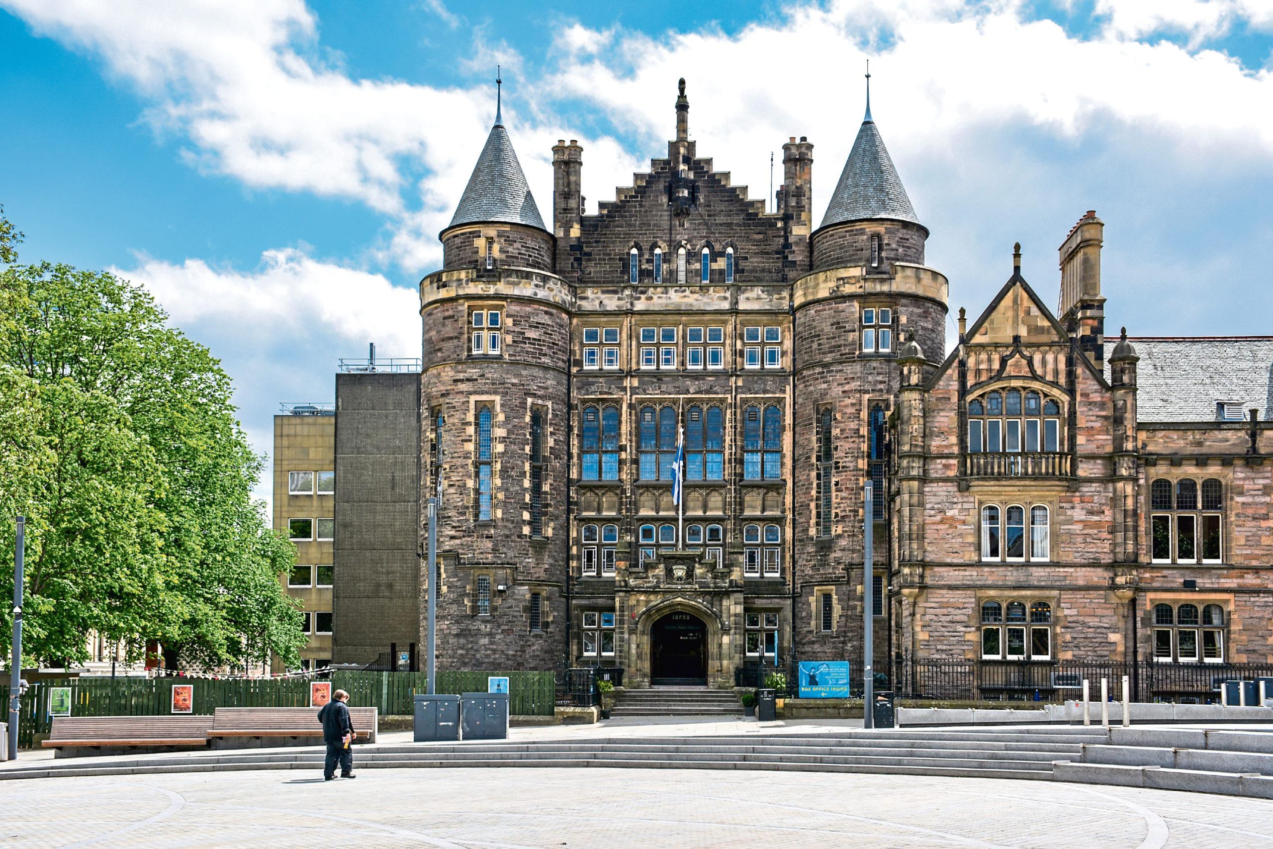Teviot Row House, a student union building at Edinburgh University.